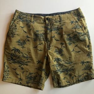 Nautica Tropical Print Men's Shorts